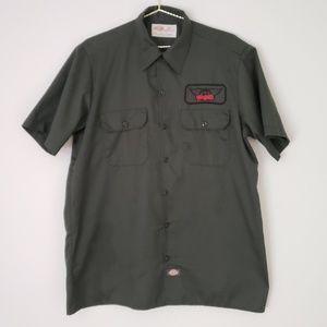 Vintage Aerosmith patch Dickies Mechanic Shirt